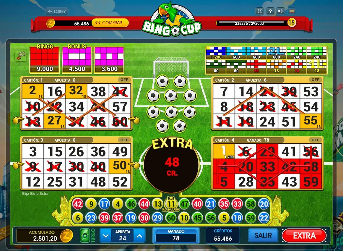 Juegos de casino online gratis bingo